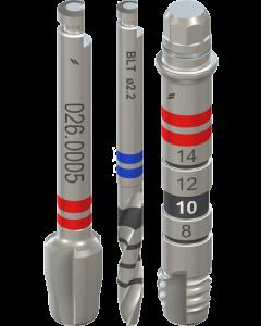 Bone level (BL, BLT, BLX) grąžtai