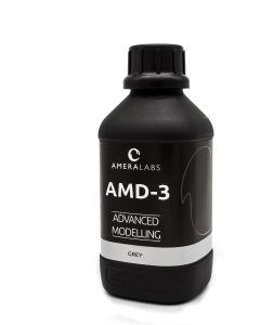 3D spausdinimo derva, spalva - pilka, AMD-3