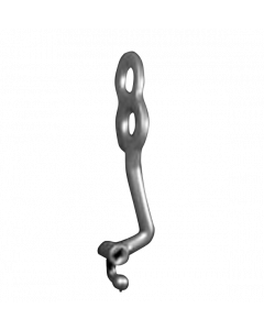 Bollard implantas - apatinis kairinis 16 mm
