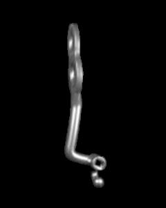 Bollard implantas - apatinis dešininis 16 mm
